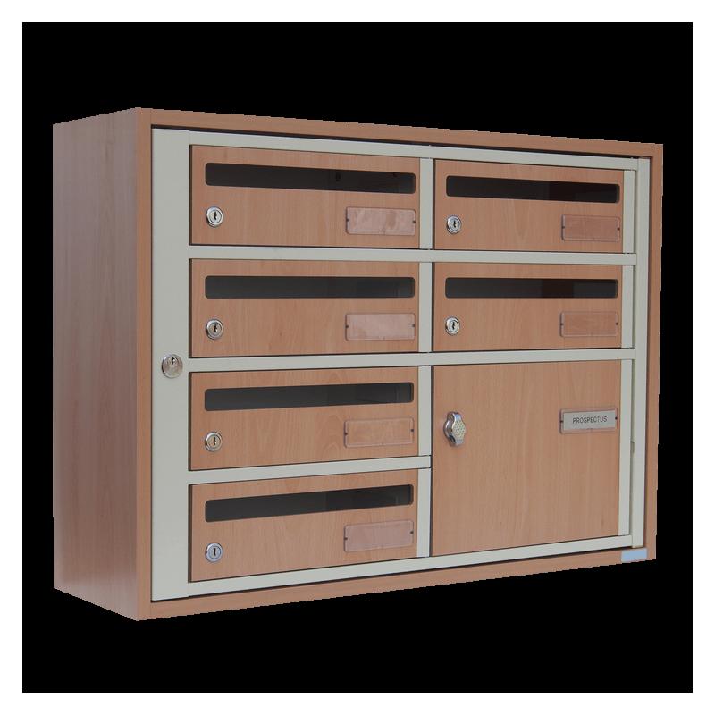 boites aux lettres int rieures aux dimensions pour petits. Black Bedroom Furniture Sets. Home Design Ideas