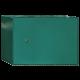 Boîte à colis grand format, horizontale, grande et résistante, vert mousse