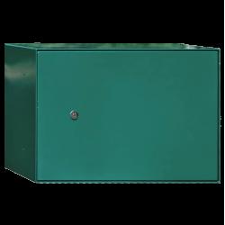 Boîte à colis grand format Vert Mousse ou Gris Brun, horizontale, grande et résistante