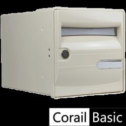 Boite aux lettres CORAIL Basic Beige - Encastrable