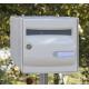 Boite aux lettres avec avertisseur de courrier