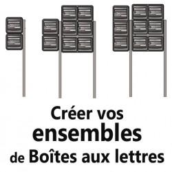 Créer votre Ensemble de Boites aux lettres Extérieur