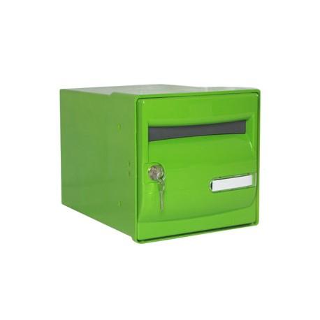Boîte aux lettres individuelle Vert Pomme - B46 CORAIL