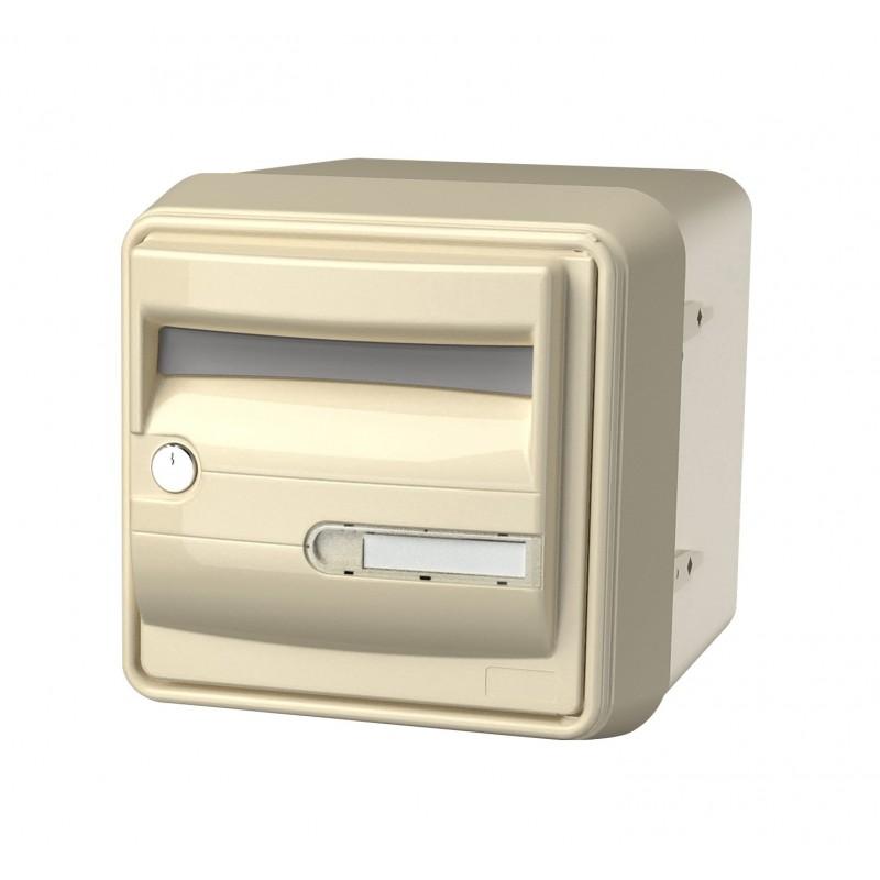 boite aux lettres individuelle beige corail b1 ext rieure et robuste. Black Bedroom Furniture Sets. Home Design Ideas