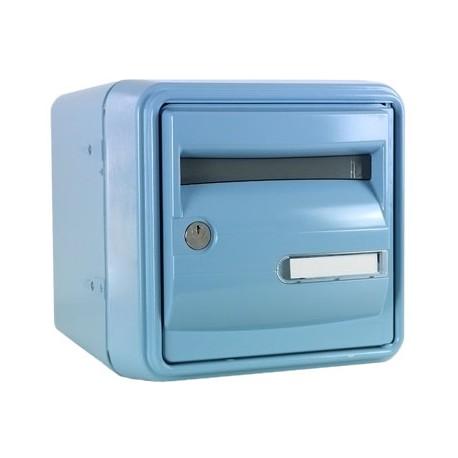Boîte aux lettres B1 Bleue : Résistante, normalisée.
