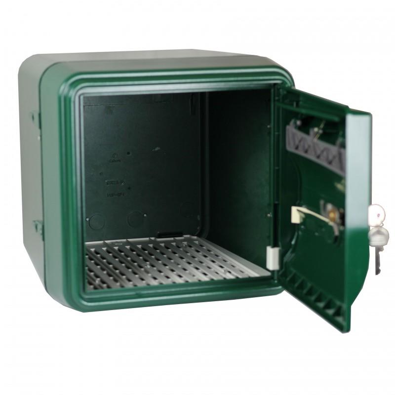 boite aux lettres individuelle verte b1 parfaite int gration v g tale. Black Bedroom Furniture Sets. Home Design Ideas