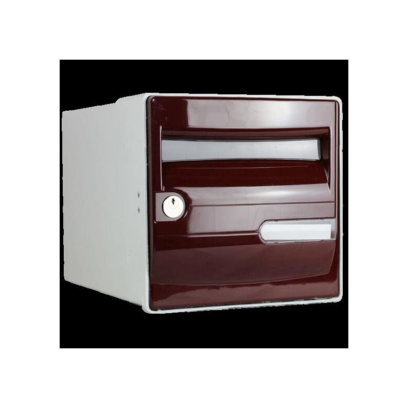 boite aux lettres rouge corail individuelle belle et. Black Bedroom Furniture Sets. Home Design Ideas