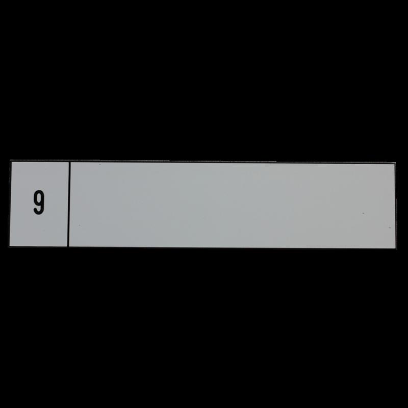 Tiquette grav e boites aux lettres collectives gravoply sur mesure - Etiquette boite aux lettres ...