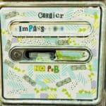 Personnalisation de boite aux lettres avec stickers, adhésifs